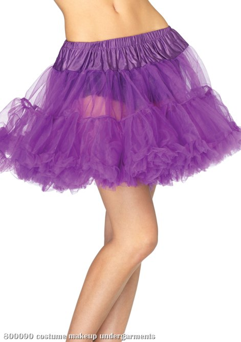 Purple Layered Tulle Petticoat (Adult)