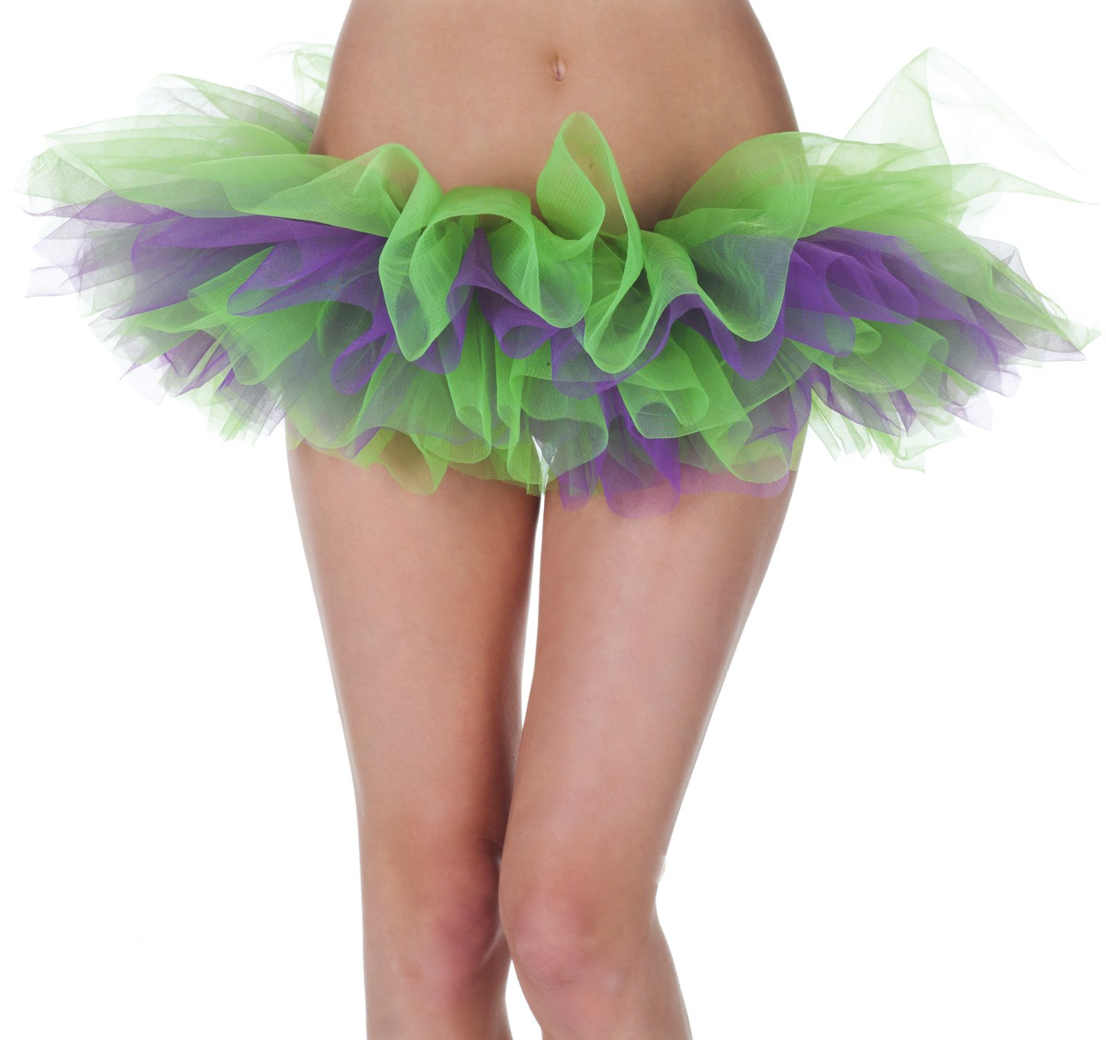 Green and Purple Tutu Adult