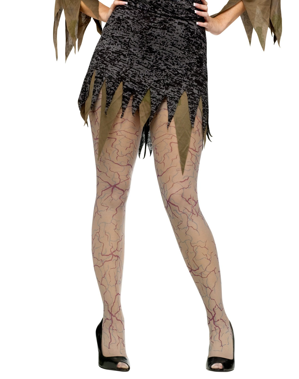 Zombie Veins Tights (Adult)