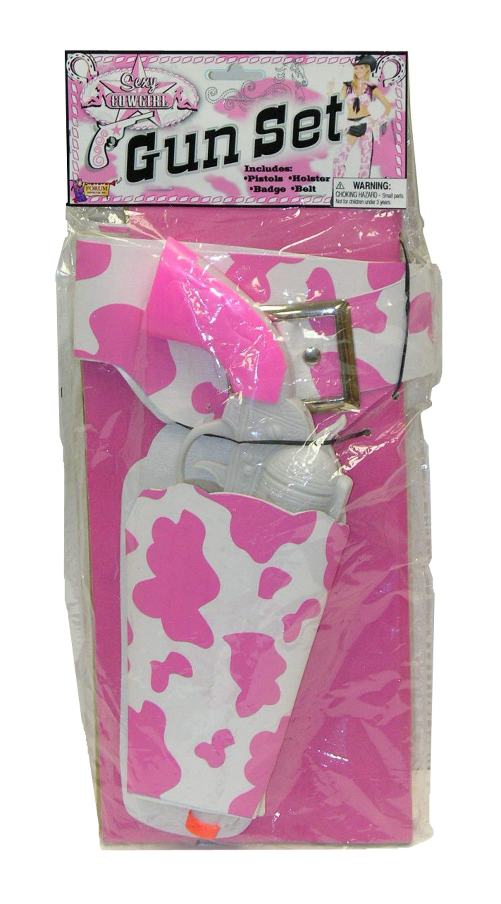 Pink Guns & Holster Set