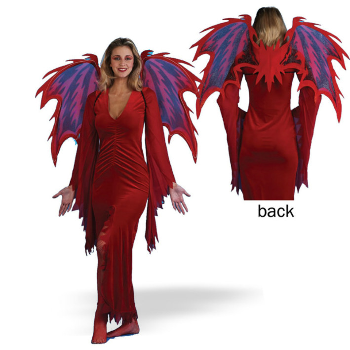Deluxe Hell Spawn Wings Adult