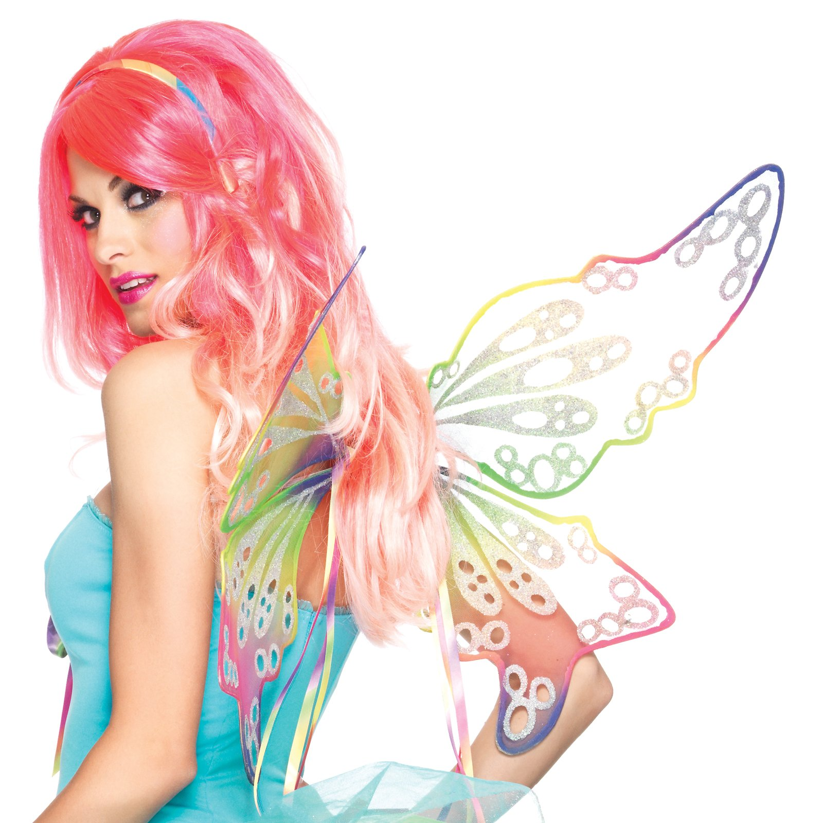 Fantasy Rainbow Fairy Wings (Adult)