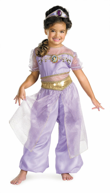 Aladdin Jasmine Deluxe Toddler/Child Costume