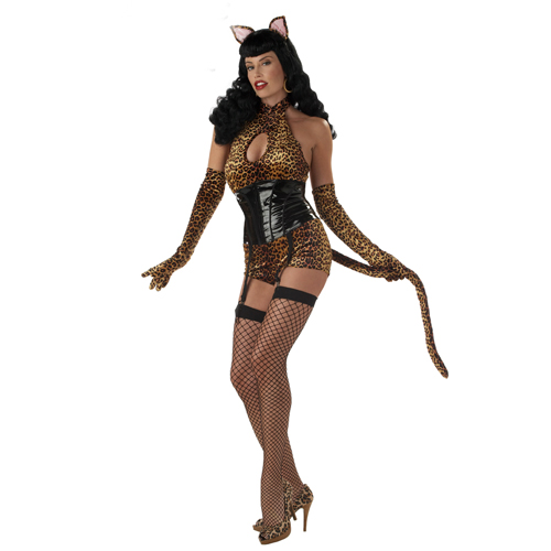Bettie Page Cattail Adult Costume