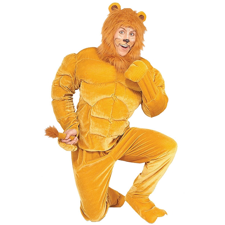 Adult Macho Lion Costume
