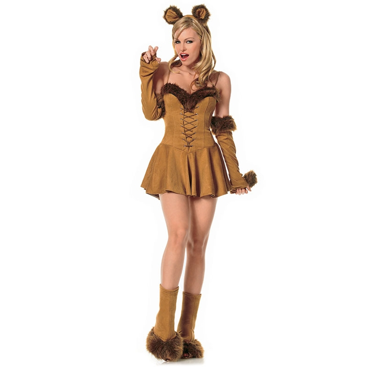 Sexy Cowardly Lion Adult Costume
