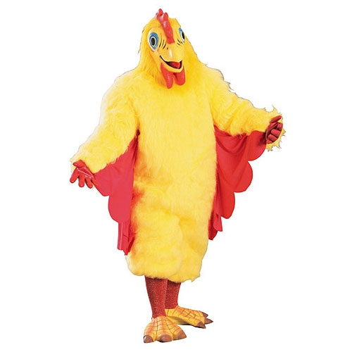 Deluxe Chickie Chicken Adult Costume