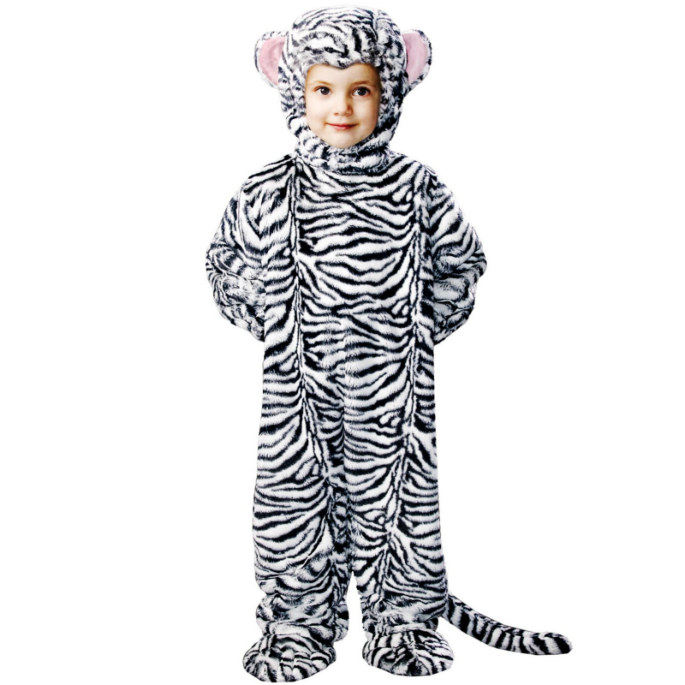 Animal Planet Collector's Edition White Tiger Cub Toddler Costum