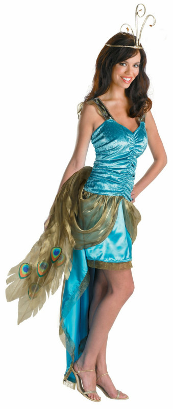Princess Peacock Adult Costume