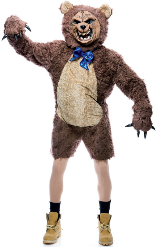 Cuddles the Bear Adult Costume - Click Image to Close