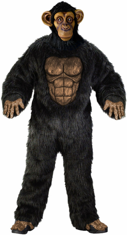 Complete Chimpanzee Adult Costume