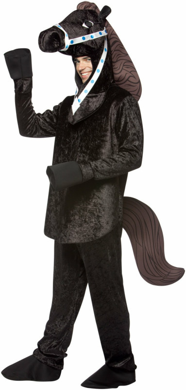 Black Stallion Adult Circus Costume