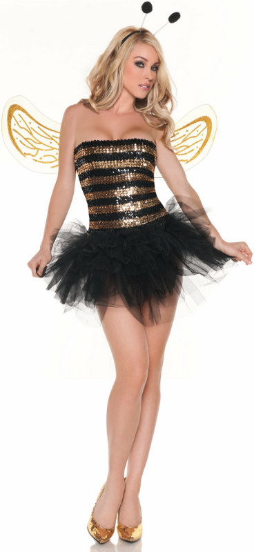 Sequins Bee Adult Costume