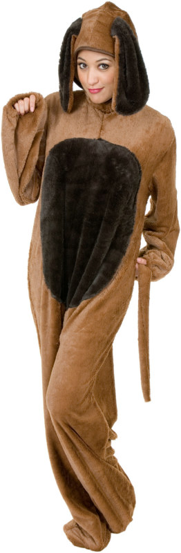 Big Dog Adult Plus Costume