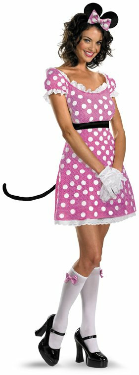 Sexy Pink Minnie Mouse Adult Costume