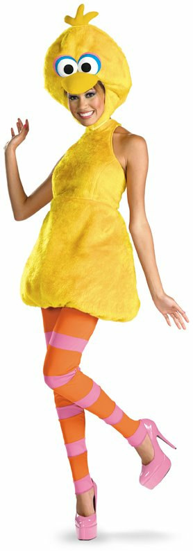 Sesame Street - Big Bird Female Adult Costume