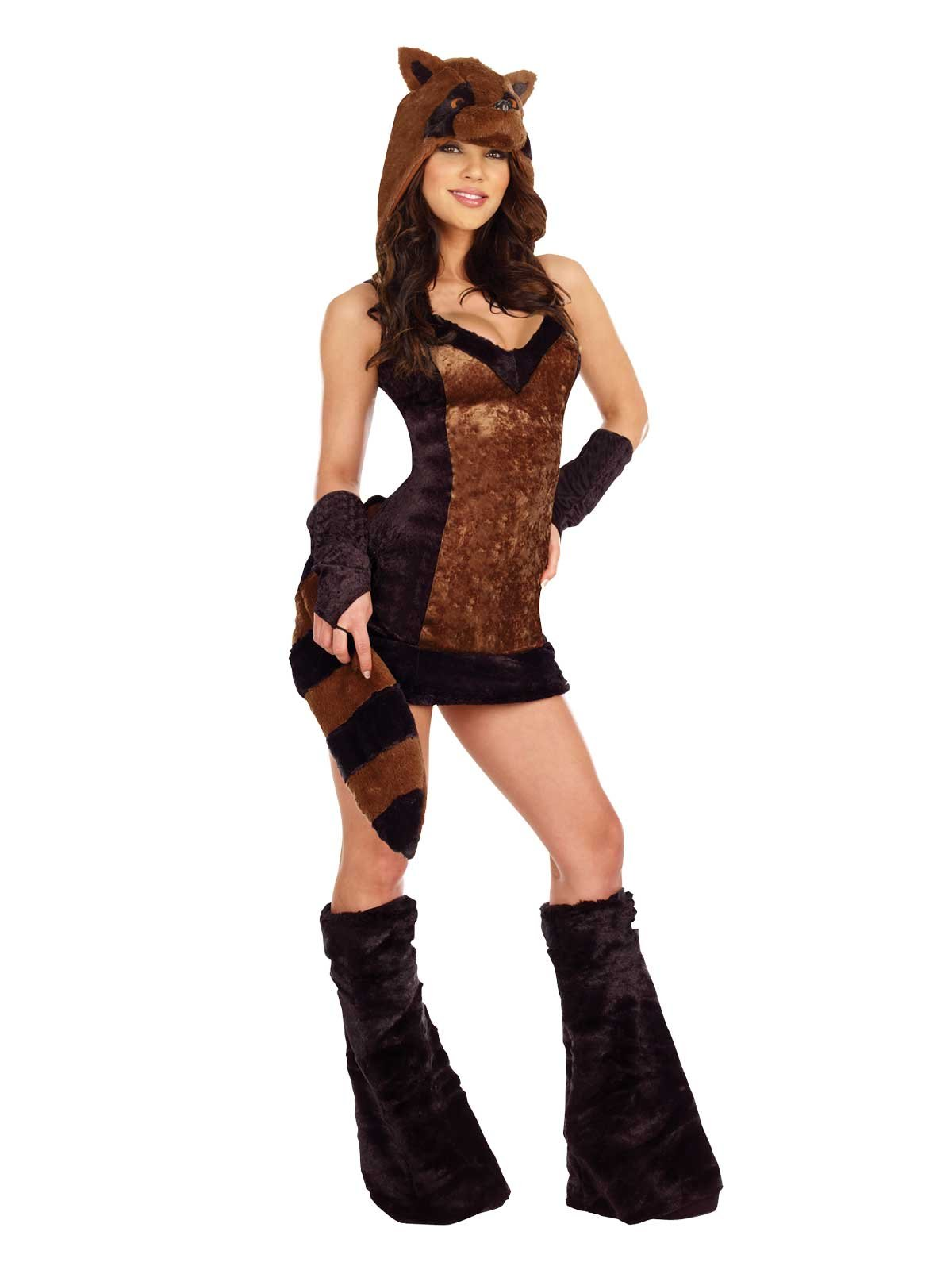 Life On the Hedge Raccoon Adult Plus Costume