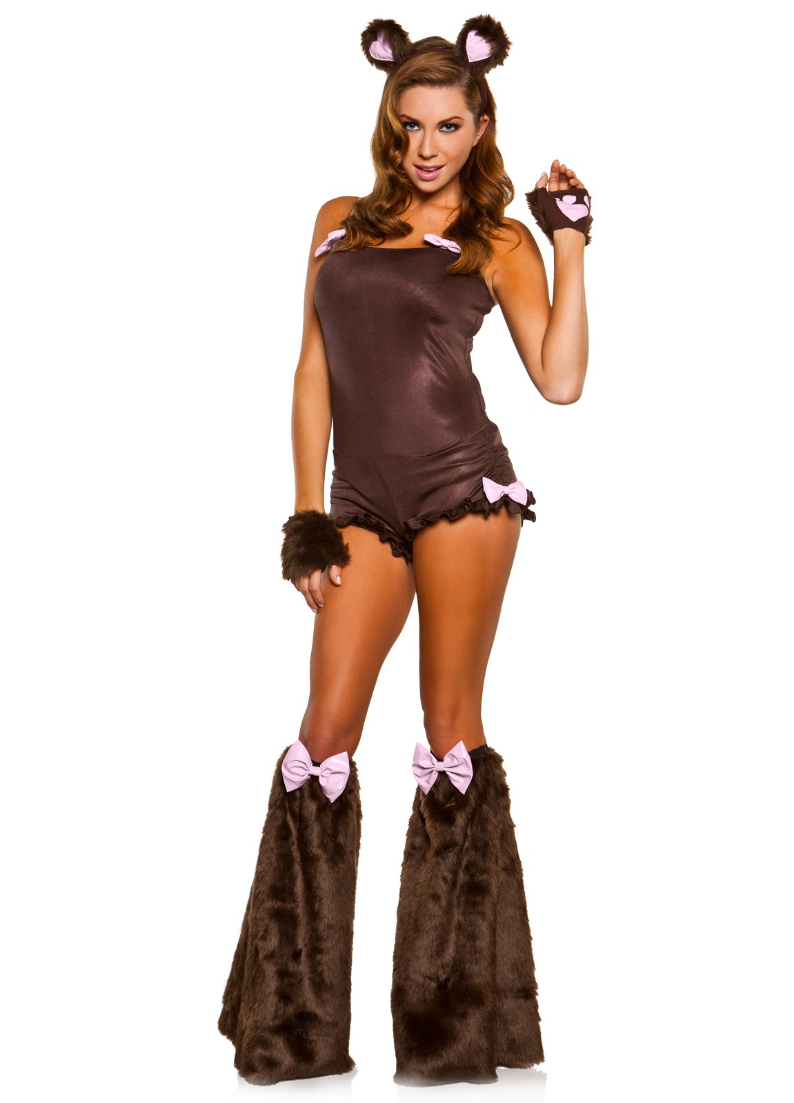 Cute Teddy Bear Adult Costume