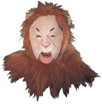 Deluxe Cowardly Lion Mask