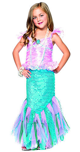 X-Small Girls Mermaid Costume