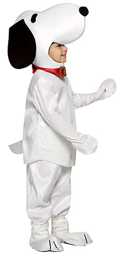 Child Snoopy Costume