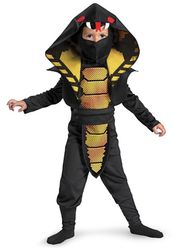 Toddler Cobra Ninja Costume