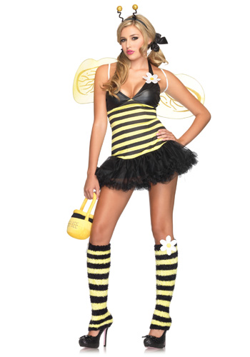 Sexy Daisy Bee Costume - Click Image to Close
