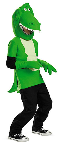 Kids Toy Story Rex Costume