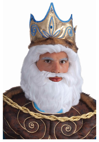 King Neptune Wig - Click Image to Close
