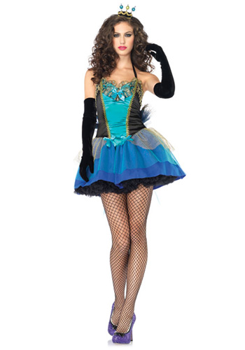 Blue Peacock Beauty Costume