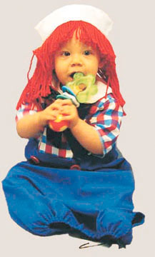 Raggedy Andy Bunting Infant Costume