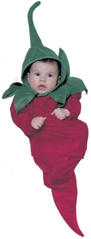Red Hot Chili Pepper Infant Bunting Costume