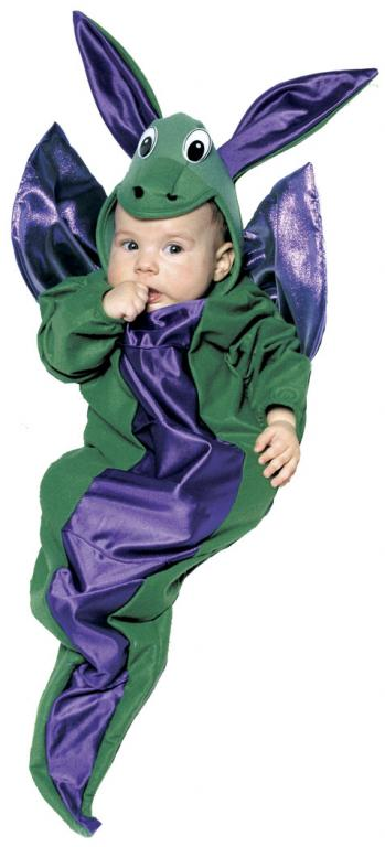 Enchanting Dragon Bunting Infant Costume