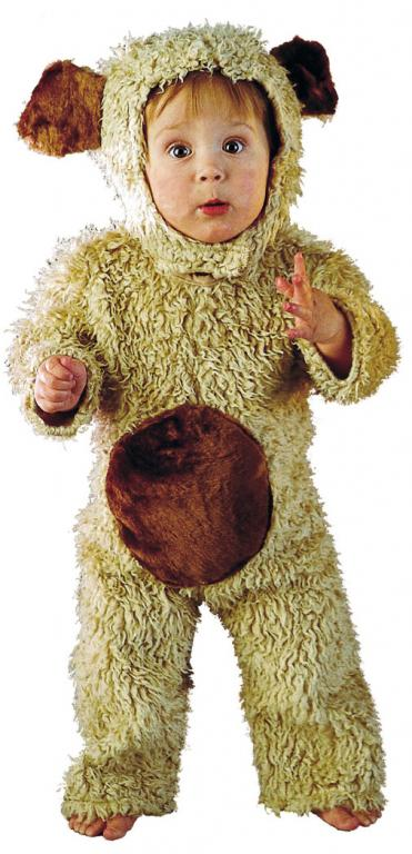 Oatmeal Bear Infant Toddler Costume