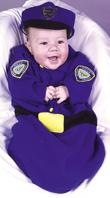 Police Bunting Infant Costume