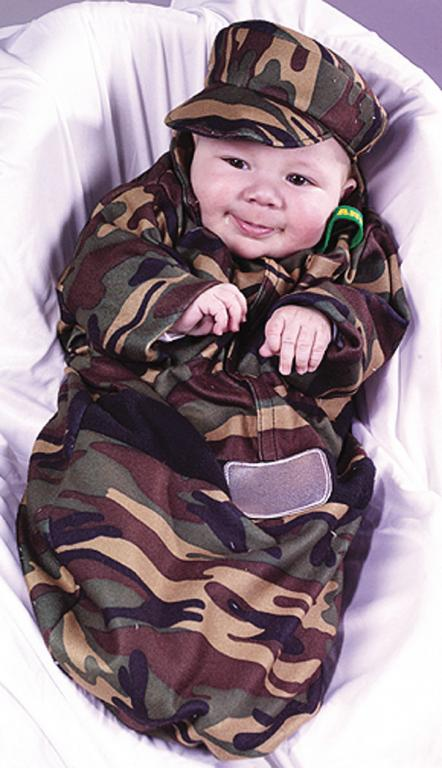 Soldier Bunting Infant Costume