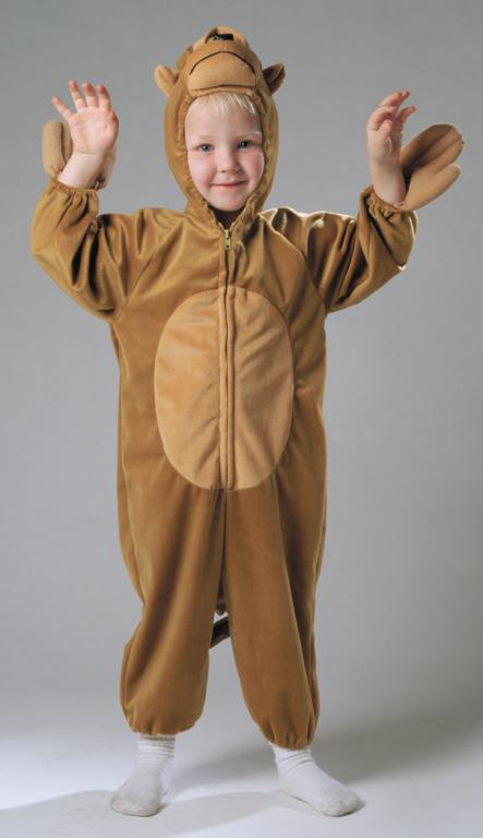 Plush Monkey Toddler Costume