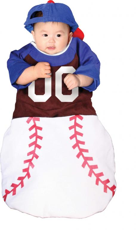 Home Run Bunting Infant Costume