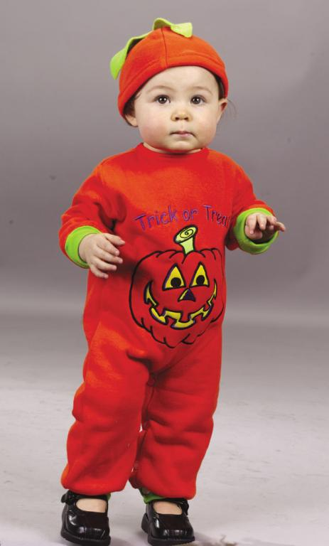 Pumpkin Jumpsuit Infant Costume