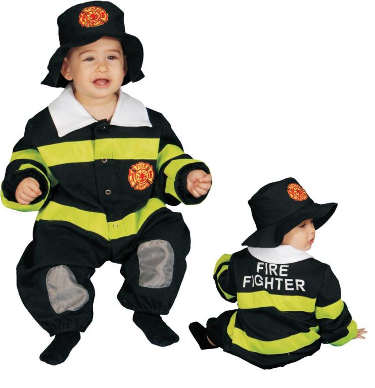 Fire Fighter Infant Costume