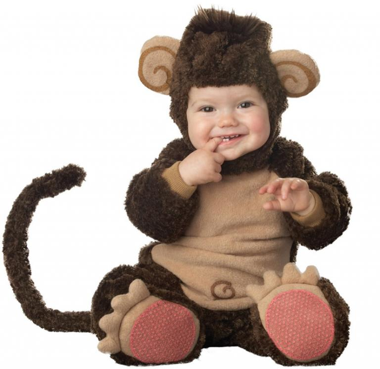 Lil' Monkey Elite Infant Costume