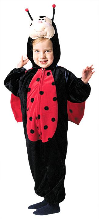 Ladybug Plush With Wings Toddler Costume