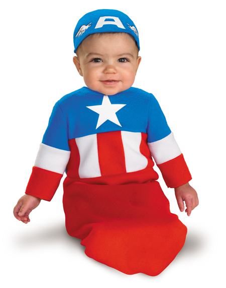 Captain America Infant Bunting Costume