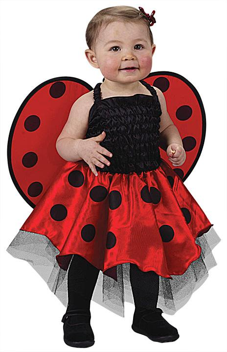 Cute Little Lady Bug Infant Costume