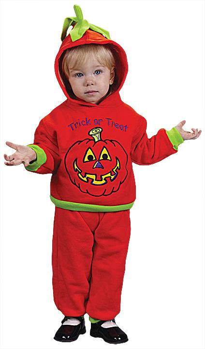 Hooded Pumpkin Infant Costume