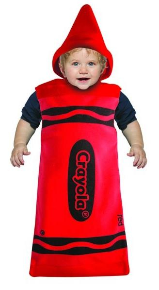 Red Crayola Crayon Costume