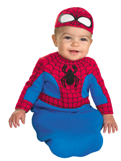 Spiderman Bunting Infant Costume