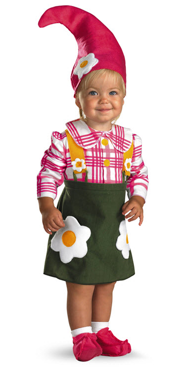 Flower Garden Gnome Costume