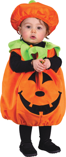 Pumpkin Plush Infant Costume