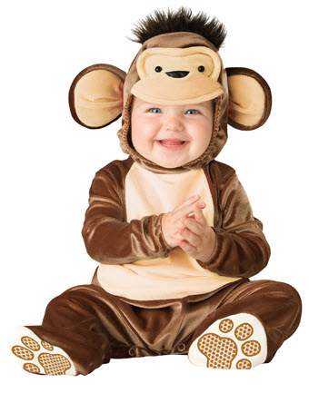 Mischievous Monkey Infant Costume